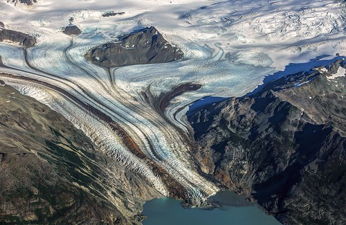 Fourpeaked Glacier Detail