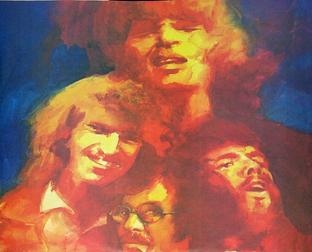"""Creedence Clearwater Revival Cosmo's Factory Liberty LBS 83388 12"""" Vinyl LP"""