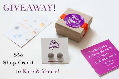 Kate and Moose Earrings Giveaway
