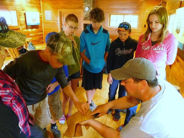 Grand Island Youth Archeology Workshop