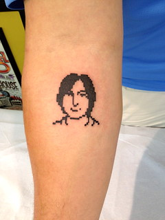 Steve Jobs icon tattoo | by blakespot