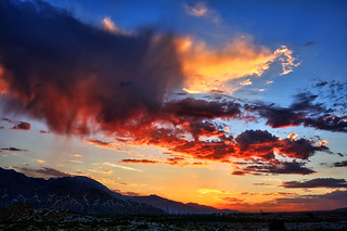 Palm Springs Sunset | by Dave Toussaint (www.photographersnature.com)