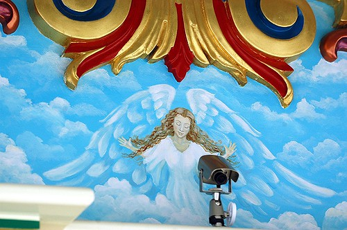 Does God watch us or is it just an Angel with a video camera? | by ...