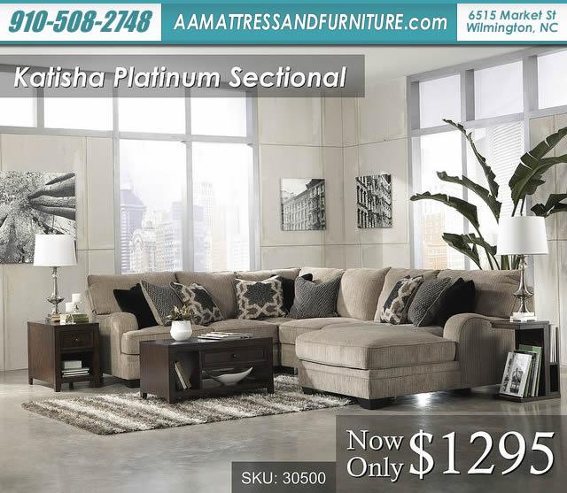 Katisha Platinum Sectional W