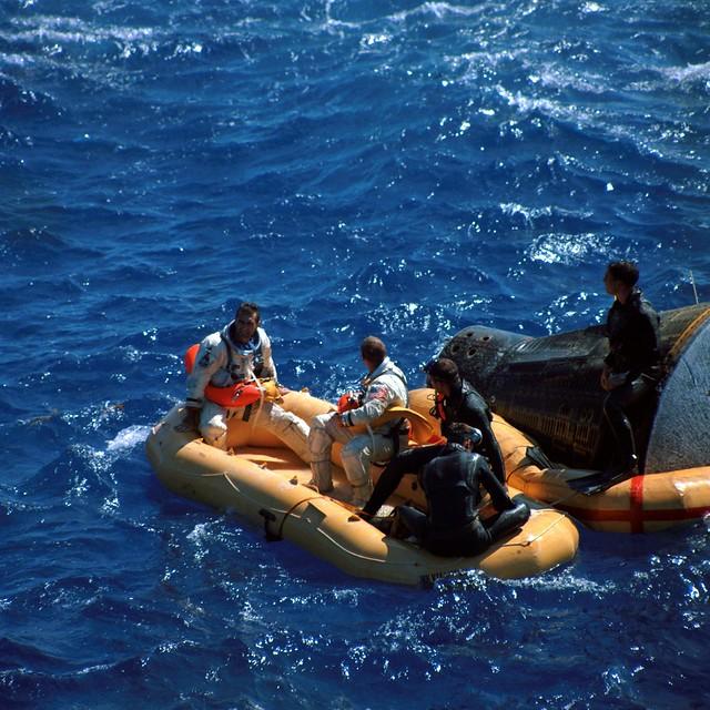 Gemini XI landing