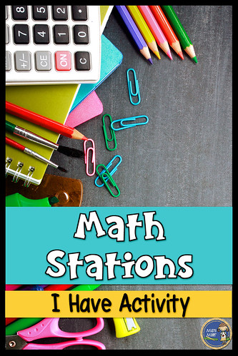Math Stations I Have Math Activity; Order of Operations