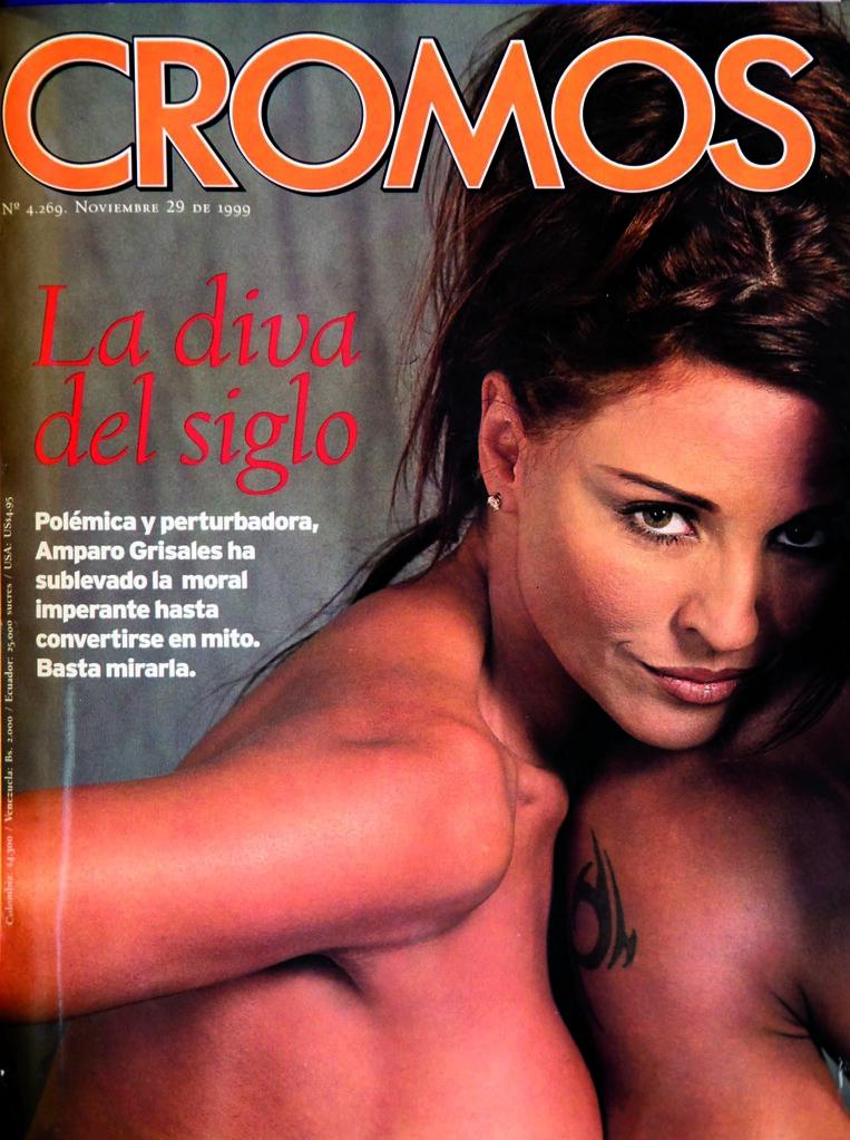Amparo Grisales La Mujer Con Más Portadas En Cromos Elespectadorcom