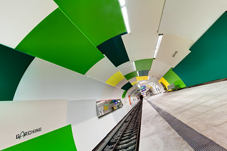 Subway Tunnel with Green Tiles | by yushimoto_02 [christian]