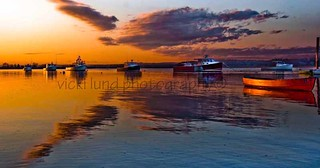 Sunset on the Fleet | by Vicki Lund Photography