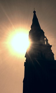 Church Spire and sun | by ~Bella189