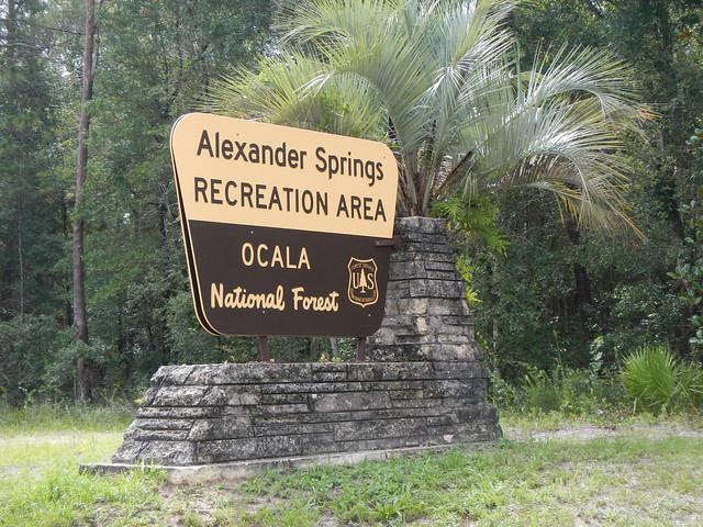 Alexander Springs Sign