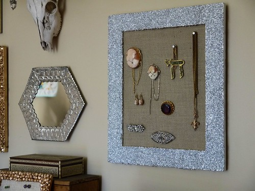 Jewelry Organization Wall | by terrabytefarm