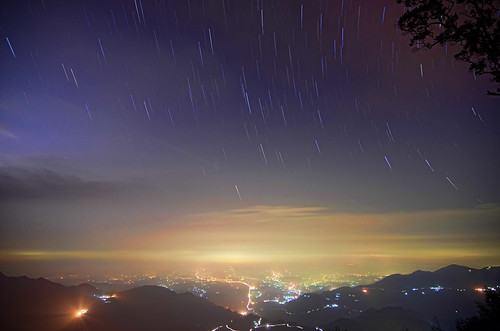 Unfinished star trails | by David-Shih