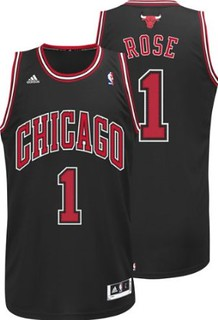 NBA Derrick Rose Chicago Bulls Revolution 30 Swingman Alternate Jersey | by basketballjerseyz