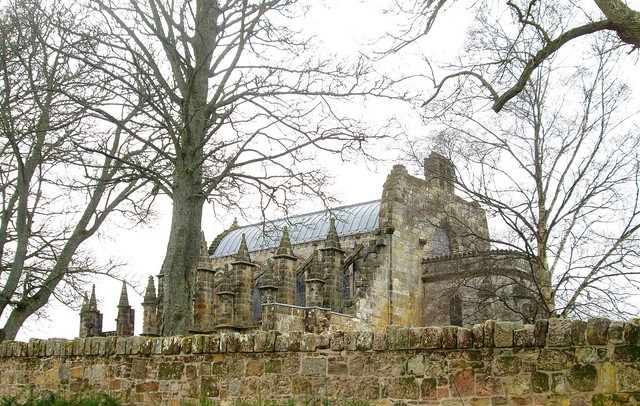 Rosslyn Chapel Roof