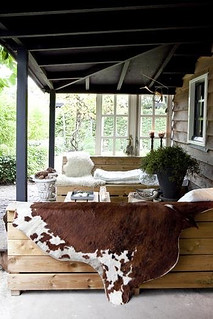 fall inspired outdoor areas | by the style files