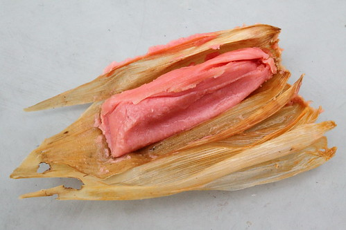Tamal dulce, El Tamal Mexican Fast Food, Prospect Park South, Brooklyn | by Eating In Translation