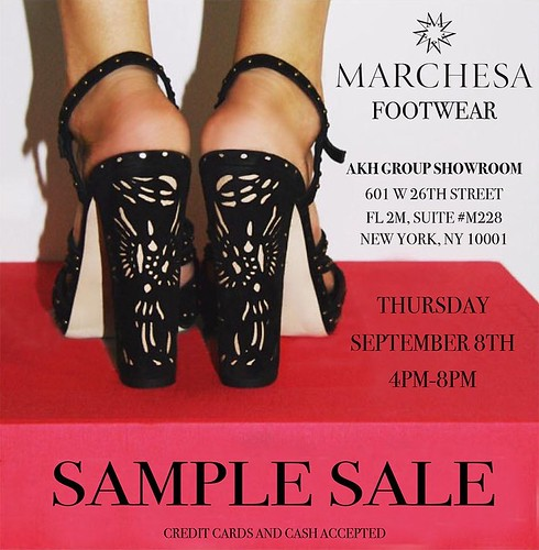 Current NYC Sample Sales