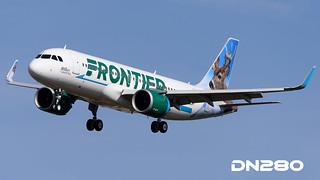Frontier A320-251N msn 7141