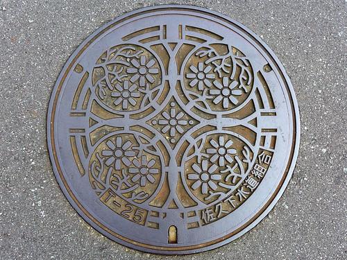 Saku Nagano, manhole cover (長野県佐久市のマンホール)