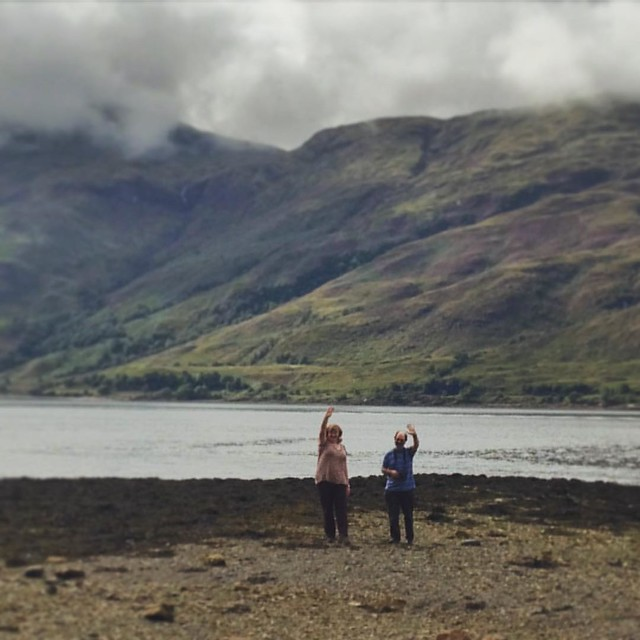 Maw and Paw at Loch Linnhe, Highlands  #scenery #Scottishhighlands #scottishscenery #Scotland