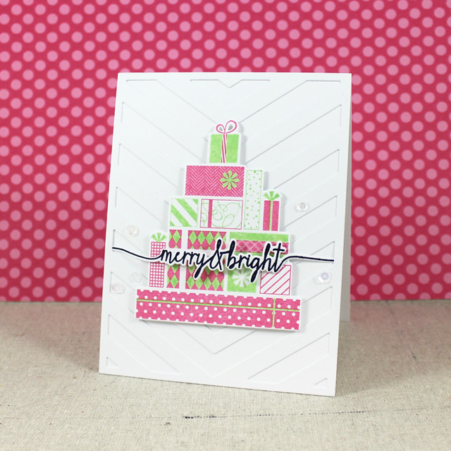 Merry & Bright Presents Card