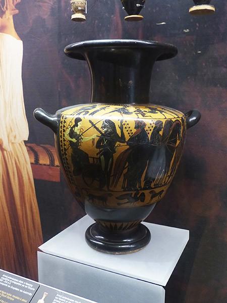 Hydria Herakles 520 BC