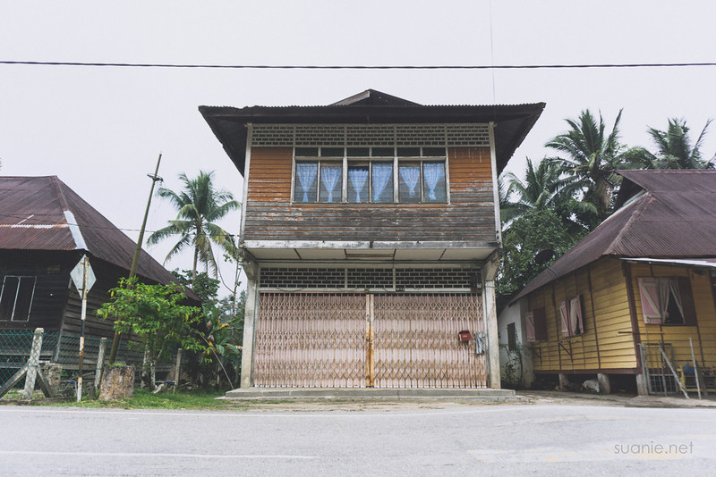 Sungai Lembing, Pahang - Malay house