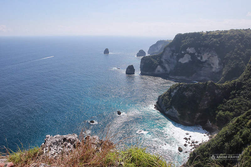 Saren Cliff Point on Nusa Penida