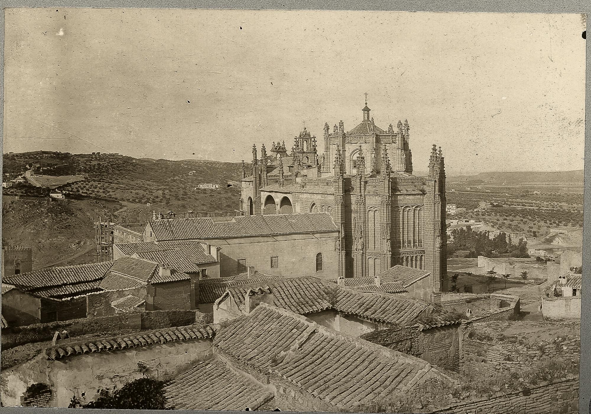 Monasterio de San Juan de los Reyes en 1886 © Archives départementales de l'Aude