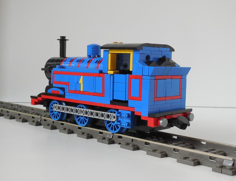 Tribute to my childhood - LBSCR E2 - LEGO Train Tech