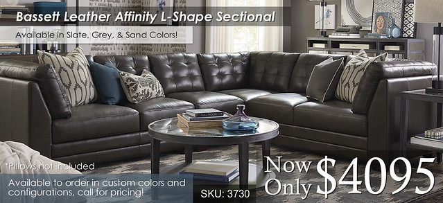 Affinity Bassett L Shape Sectional 3730