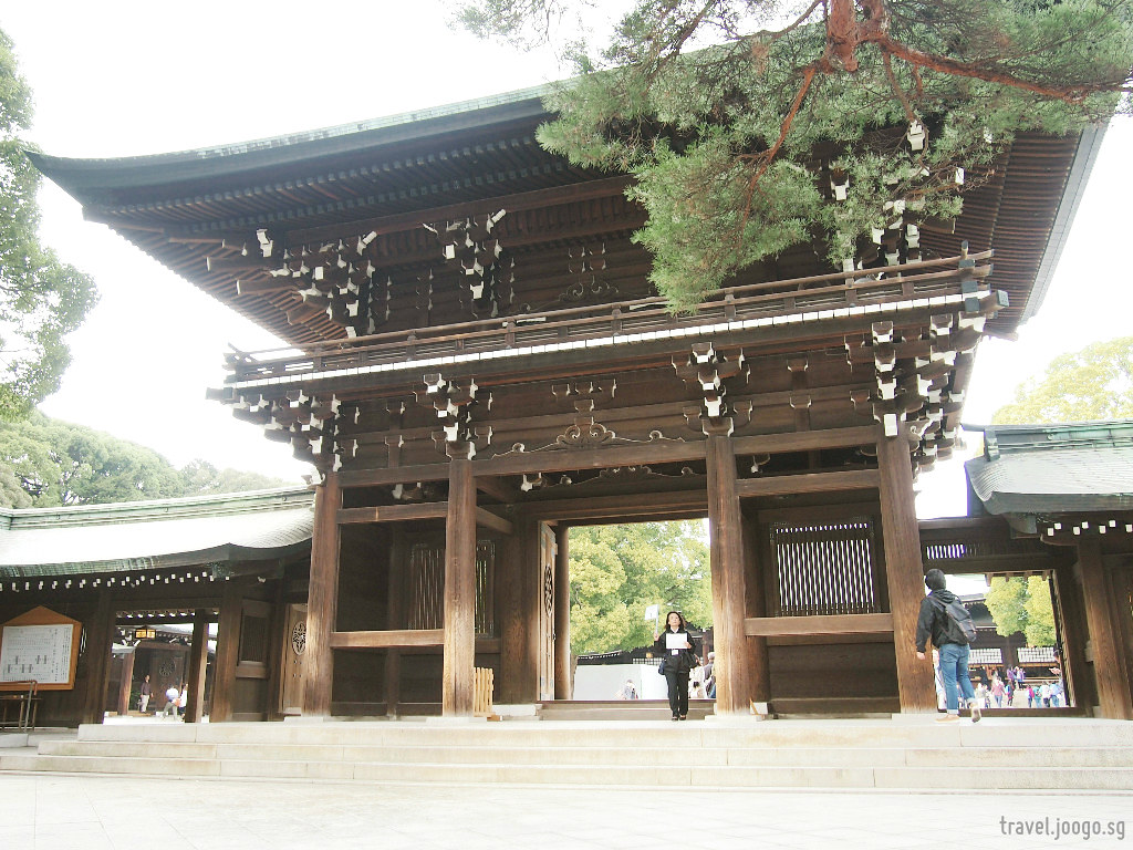 Harajuku Tokyo - Meiji Jingu 1a - travel.joogo.sg