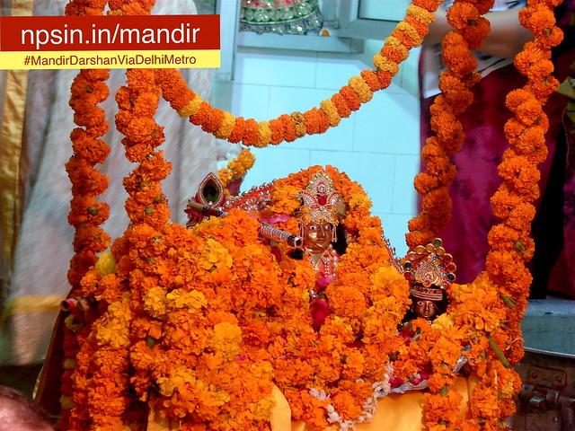 Janmashtami 2016: Laddu Gopal Ji when temple celebrating Shri Krishna Janmashtami