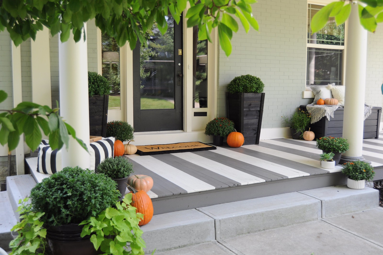 2016 Fall Porch Makeover
