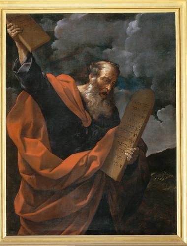 Mose distrugge le tavole della legge guido reni 1575 164 flickr - Le tavole della legge ...