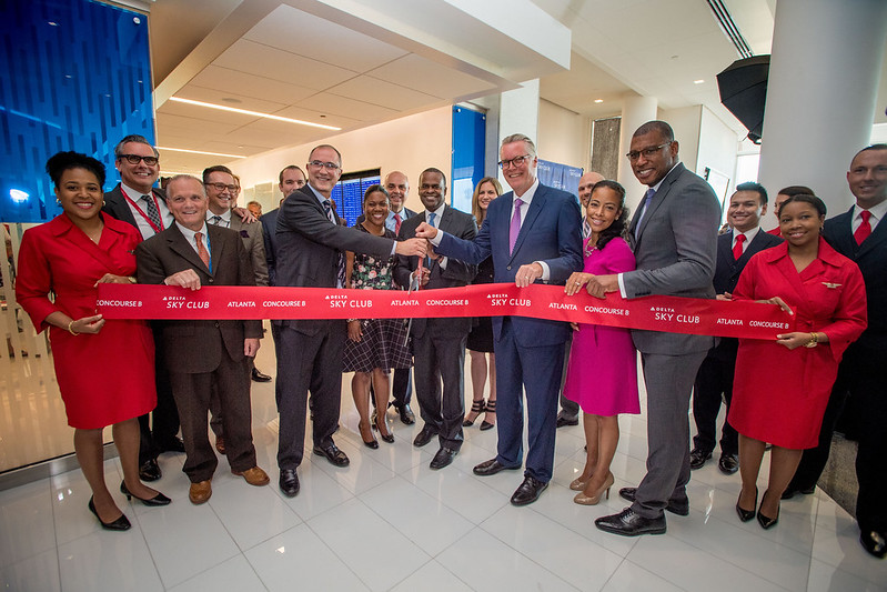 Delta ATL Sky Club, Concourse B Grand Opening