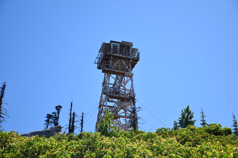Black Butte lookout