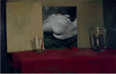 16h20 Homenaje VII a Velázquez La Venus 1948 Óleo lienzo 64 x 100 cm