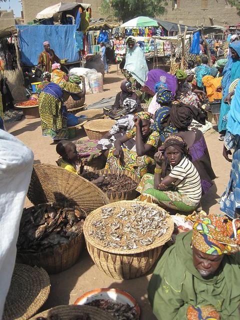 Mercado de Djenné