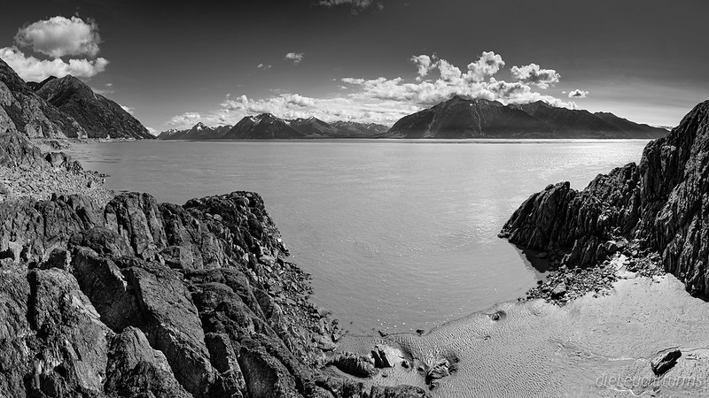 Turnagain Arm seen from Beluga Point