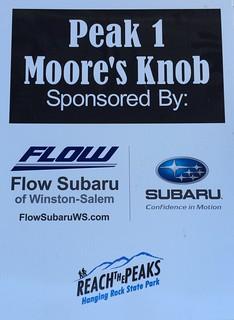 '16 Moore's Knob Pk 1