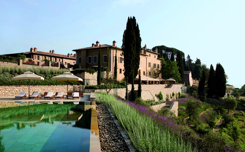 Pool at the Rosewood Castiglione del Bosco