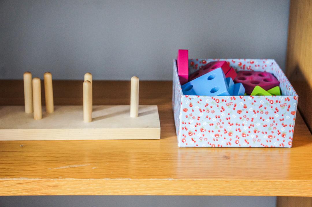 pokój dla dziecka według Montessori