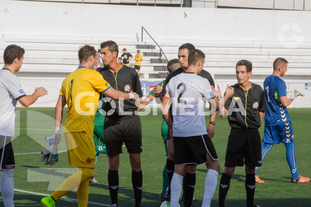 Ontinyent CF - CD Castellón (3-0) 10/09/2016
