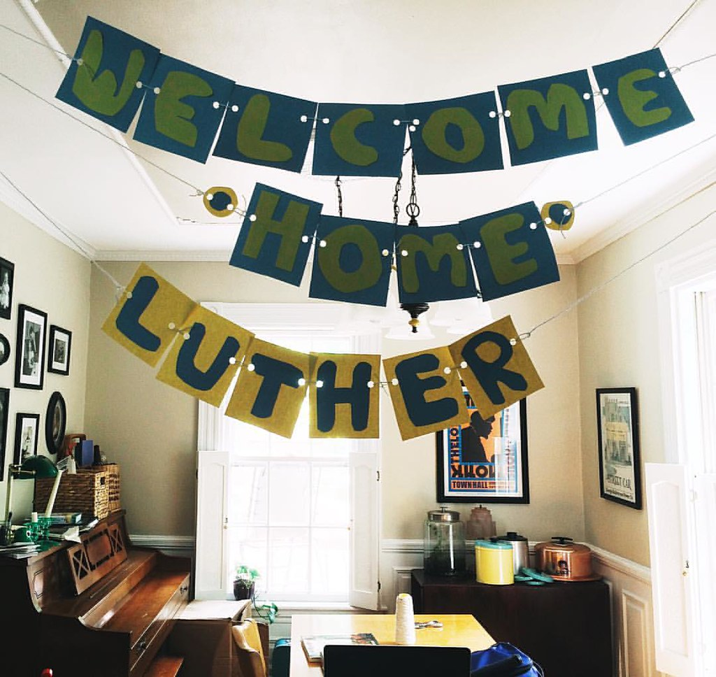 Ready for Luther to arrive home on Sunday; can't wait to see him tomorrow in Ohio! #welcomehome