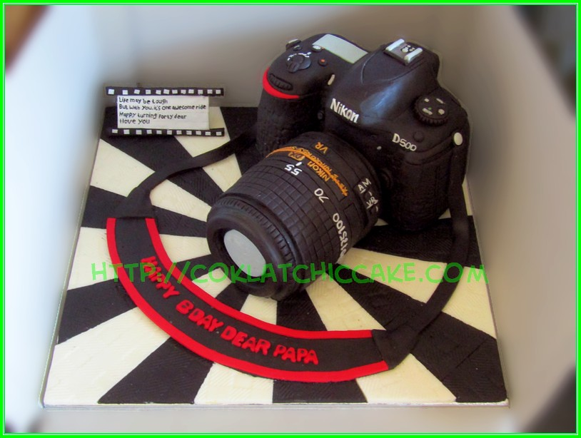 Cake Nikon D500