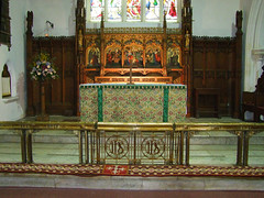 sanctuary (reredos by JS Corder)