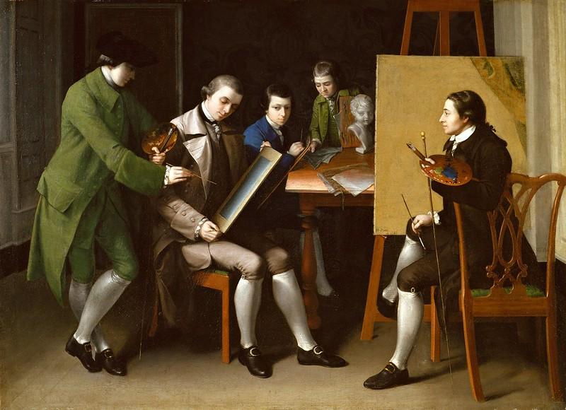 Matthew Pratt - The American School 1765