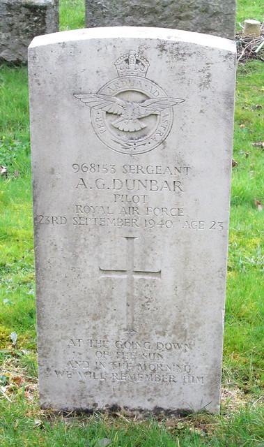 Cardross War Grave 2